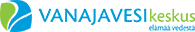 Vanajavesikeskus elämää vedestä logo. Link to Vanajavesikeskus homepage.